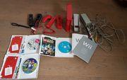 Wii Konsole mit 3 Spielen