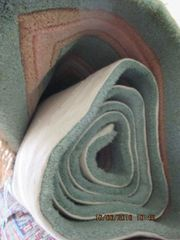 Seidenteppiche China hellgrün