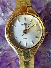 Originelle Damen Marken Armbanduhr Mit Lederarmband Ansehen