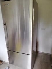 Liebherr Kühlschrank mit Gefrierteil - Edelstahl