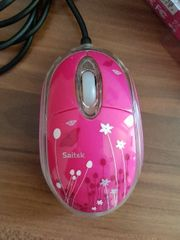 Mouse und Mousepad in pink