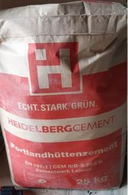 1 Sack Zement