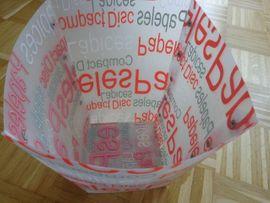 Papiereimer Papierkorb weiß rot Höhe: Kleinanzeigen aus Hamburg Eidelstedt - Rubrik Büromaterial