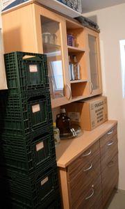 Anrichte Küchenschrank teils aus Buche