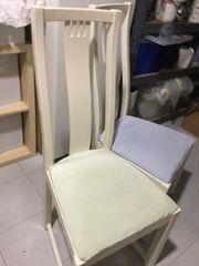 2 Ikea Holz Stühle