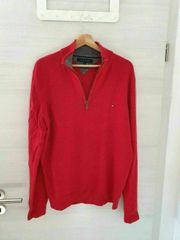 Tommy Hilfiger Pullover Lammwolle Rot