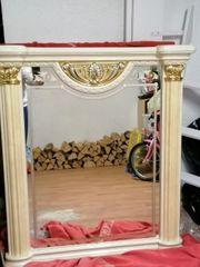 Eleganter Spiegel in Ivory