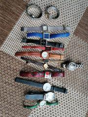 Div Armbanduhren aus 70und80iger Jahren