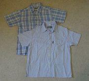 Auswahl 2 kurzärmlige Hemden Gr