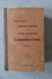 Slovenisch - Deutsch Deutsch Slovenisch Taschenwörterbuch