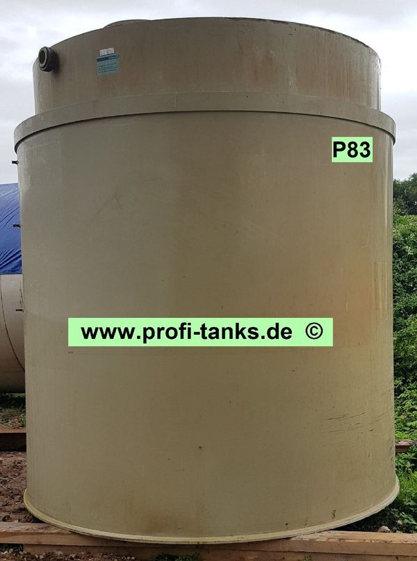 P83 gebrauchter 12 000L Polypropylen-Tank