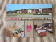 DDR MITROPA Stolpe Postkarte der