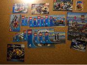 Kisten voll Lego Feuerwehr Polizei