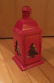 keine rote Laterne weihnachtlich