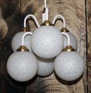 Bubble Leuchte Kugellampe 70er Sputnik