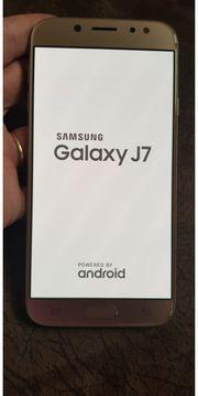 Samsung j7 Rose Gold