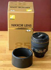 Nikon 85 1 4G