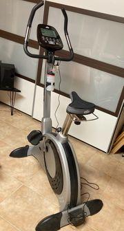 Hometrainer Fahrrad mit Ergometer Crane