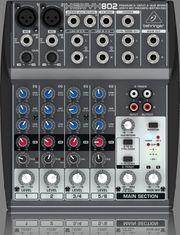 Behringer XENYX 802 Mischpult