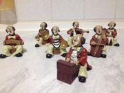 7 Musiker Orchester Gilde Handwerk