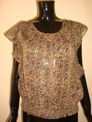 Leichte Bluse Shirt Fledermaus Ärmel