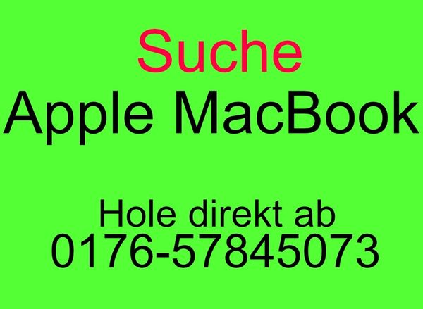 SUCHE Apple MacBook Pro -Air