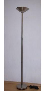 Deckenfluter Halogen Silber 300 W