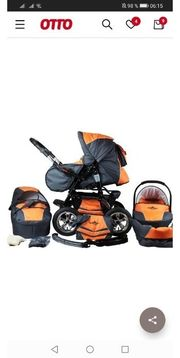 10 tlg Kinderwagen von Bergsteiger