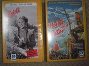2 VHS Videos Heidi Teil