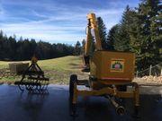 Mistbagger Traktorbagger Kompostlader Bagger