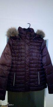Damen Winterjacke mit Fellkapuze