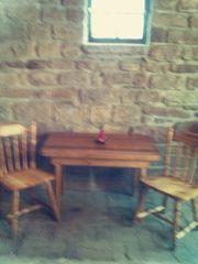 Sitzgruppe für Küche Gartenlaube sowie