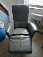 Original Hukla Sessel Grau