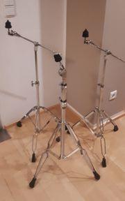 3 Beckenständer Cymbal Stand gerne