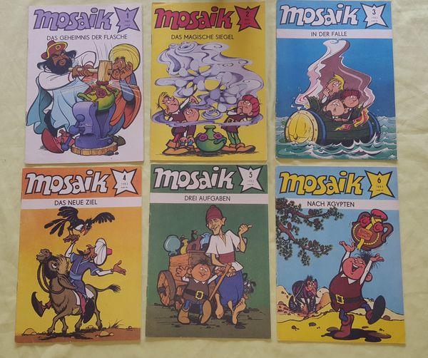 Comics Mosaik Jahrgang 1983 komplett