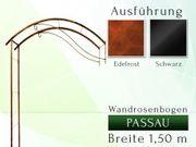 Eisen- Metall- Wandrosenbogen PASSAU Breite