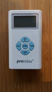 prorelax TENS EMS Muskelstimulation zusätzl