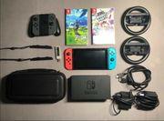 Nintendo switch Plus 2 Spiele