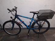 Fahrrad und Einrad