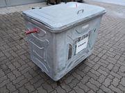 Müllcontainer - Container 800 lt verzinkt