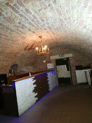 Historischer Gewölbekeller für Bar oder