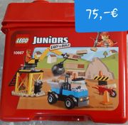 Lego Junior Starter Steinebox Baustelle