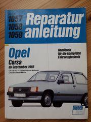 Reparaturanleitung Opel Corsa ab Sep
