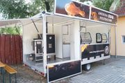 BBQ Imbisswagen Verkaufsanhänger food truck