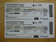 2 Konzertkarten - Peter Maffay Band