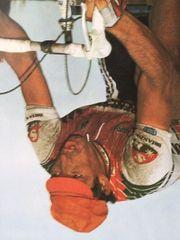 Poster Francesco Moser Paris Roubaix