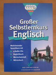 Großer Selbstlernkurs Englisch WIE NEU