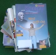Kneippjournale 105 Stück aus Sammlung