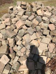 Alte Granit Pflastersteine