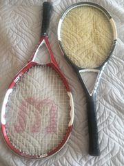 2 Tennisschläger Wilson Code 5
